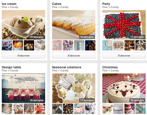 Fine and Candy - Pinterest Boards