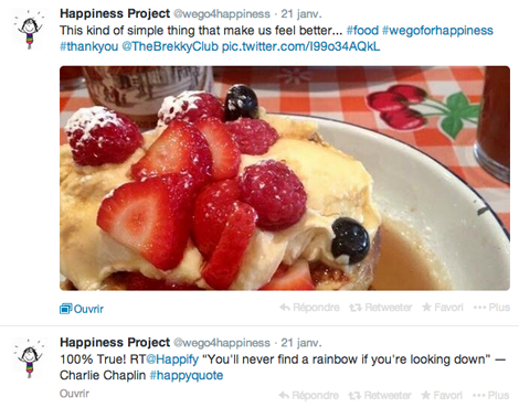 The Happiness Project - Twitter