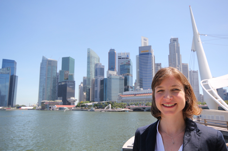 Keren Lerner in Singapore