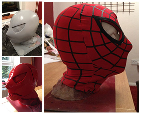 Spidey-Mask second stage