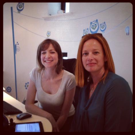 Keren Lerner and Jacqueline Skött from Kell Skött Haircare