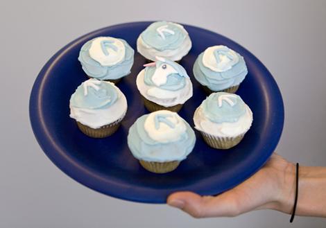Top Left Design Cupcakes