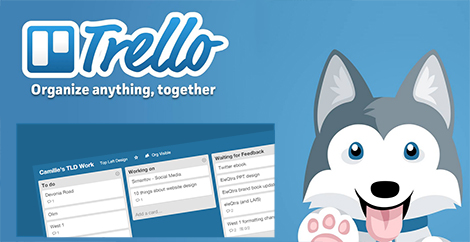 Trello - amazing collaborative organising and, task management and project management tool