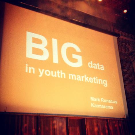 Big data and youth marketing
